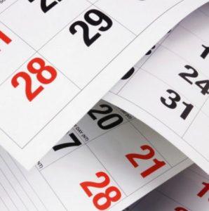Официални празници и почивни дни през 2018г.