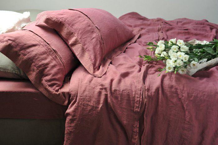 Ленено спално бельо