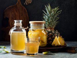 Ананасова лимонада, лимонада от ананас