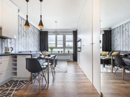 Трикове за просторна кухня