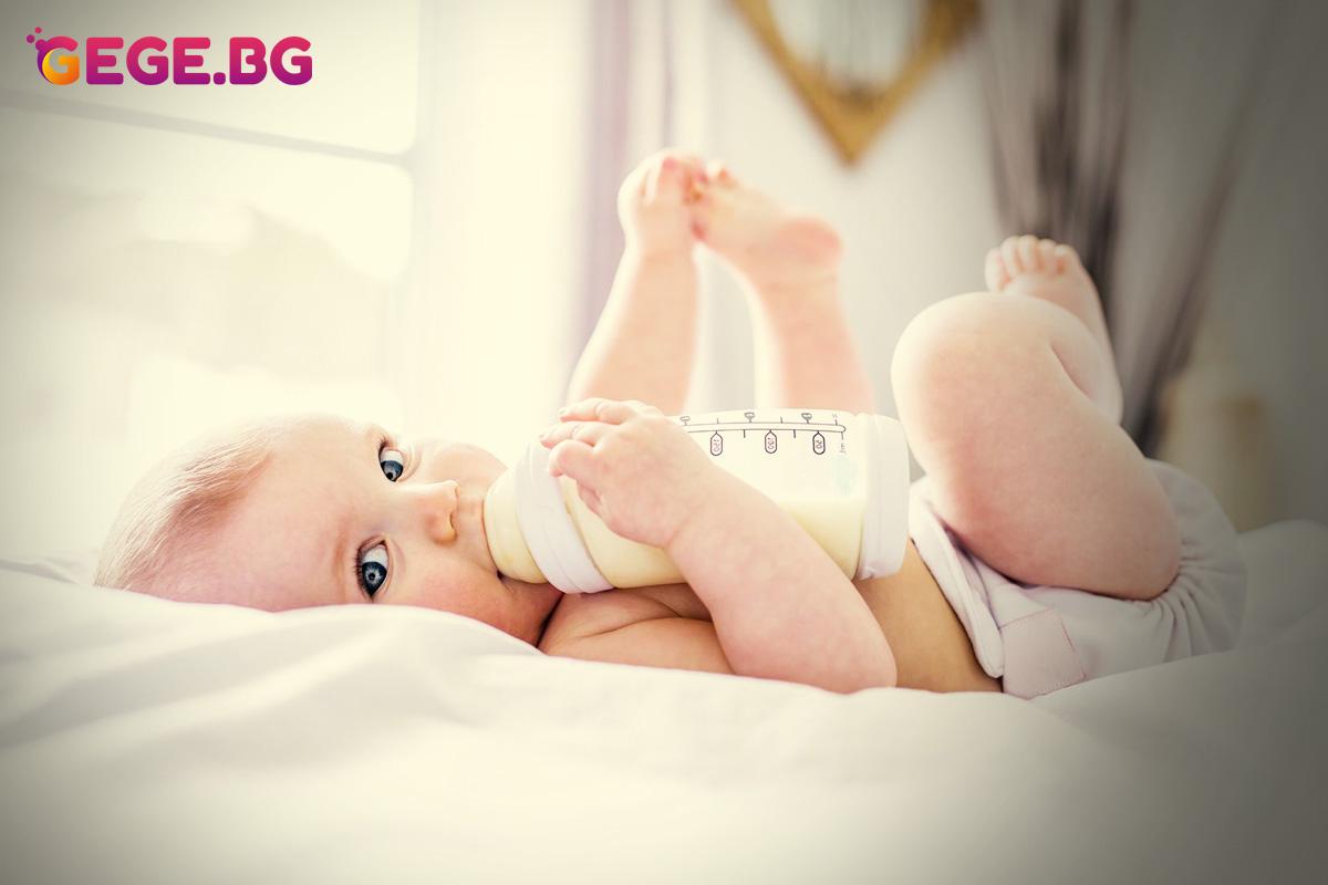 Млякото е важно за развитието на децата