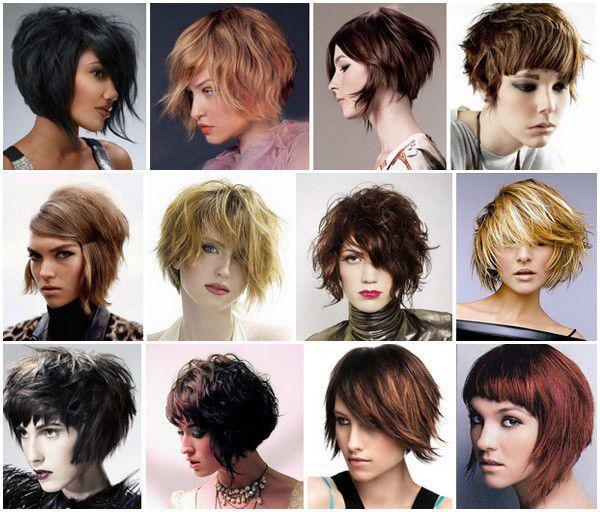 Прическа за къса коса в стил Гръндж