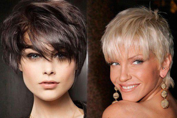 Прически за къса коса с текстура