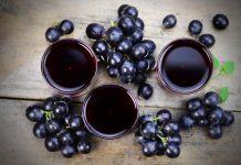 Домашно приготвен сироп от грозде