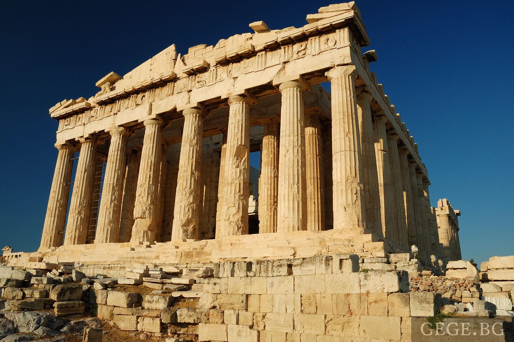 Забележителности в Атина - Акрополът