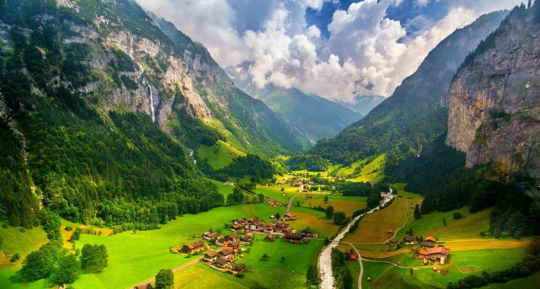 Долината Лаутербрунен, Швейцария