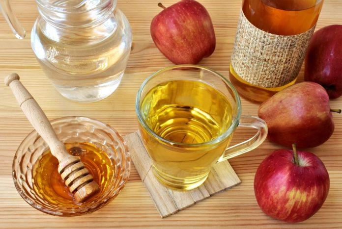 Ябълков оцет и мед