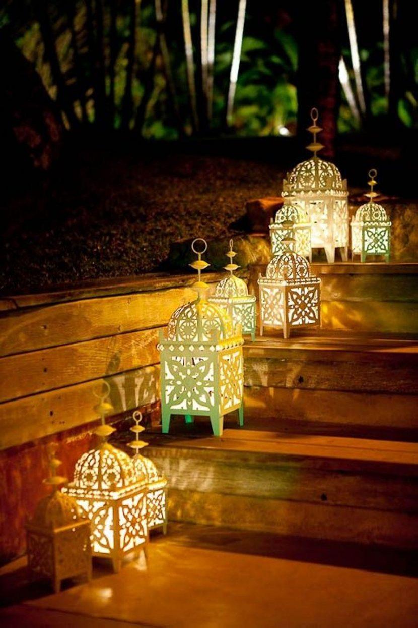 Идеи за градинско осветление