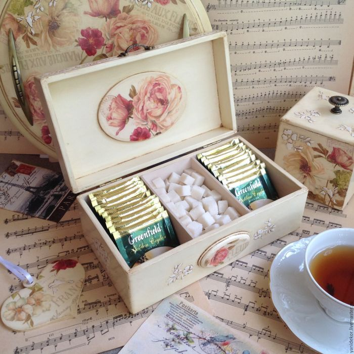 С такъв удобен органайзер чаят Ви винаги ще бъде идеално подреден