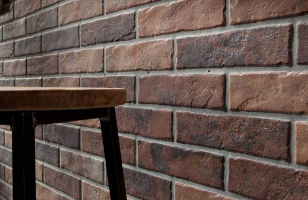 Имитация на тухлена стена