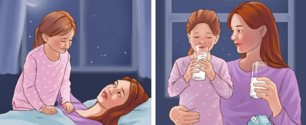 Топло мляко